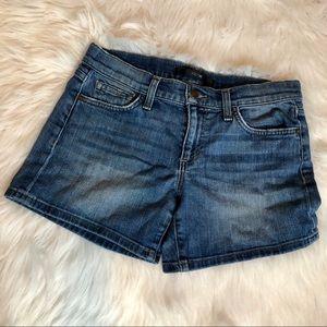 Joe's Mid Wash Jean Shorts